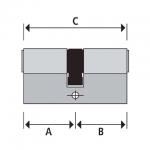 Dubbele cilinder maatvoering